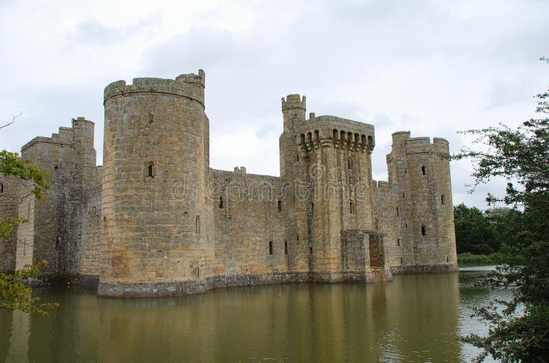 Замок Bodiam, Англия стоковая фотография