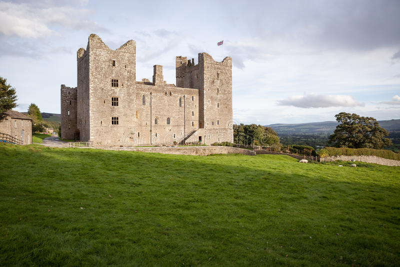 Замок Bolton стоковое фото