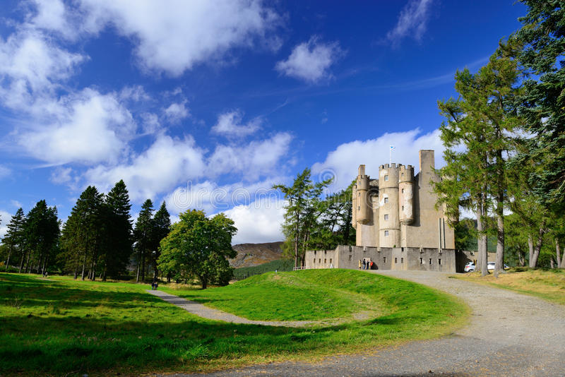 Замок Braemar стоковое изображение