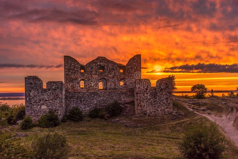 Замок Brahehus стоковое изображение rf