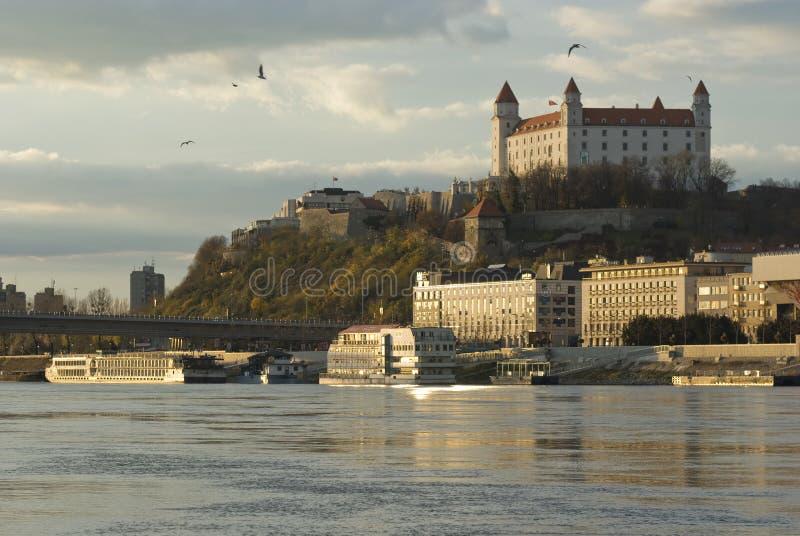 замок bratislava стоковые фото