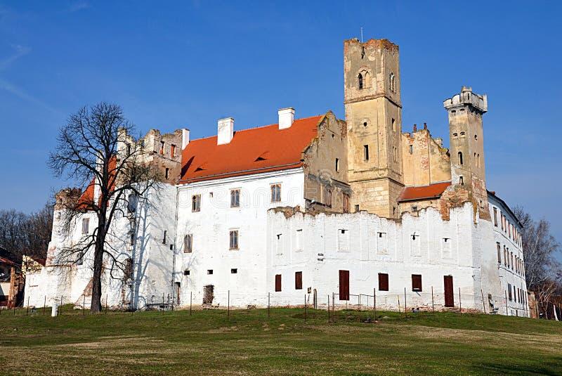 Замок Breclav, чехия, Европа стоковая фотография