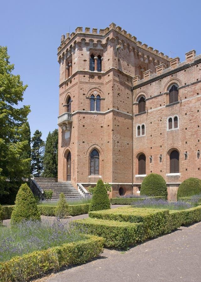 замок brolio стоковые фото