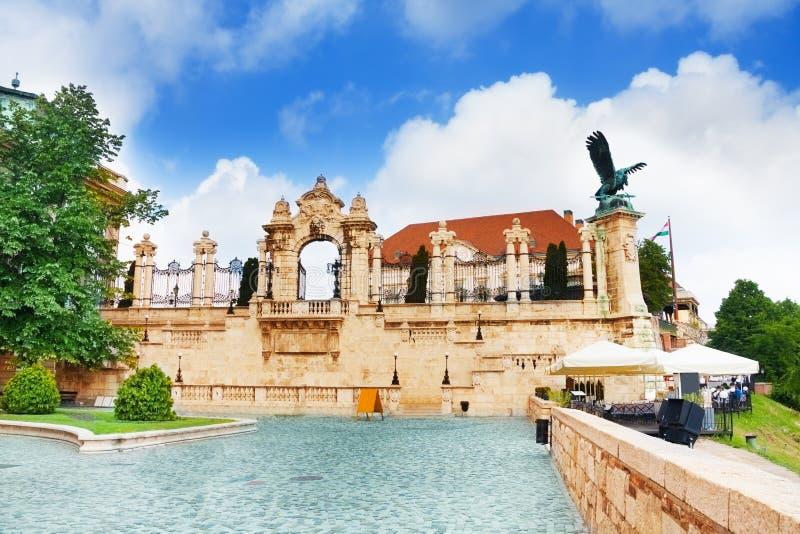 Download Замок Buda, королевский дворец, строб Habsburg Стоковое Фото - изображение насчитывающей замок, город: 40580194