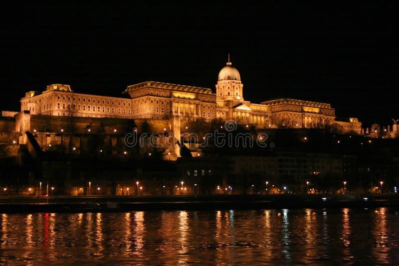 замок budapest стоковые фото