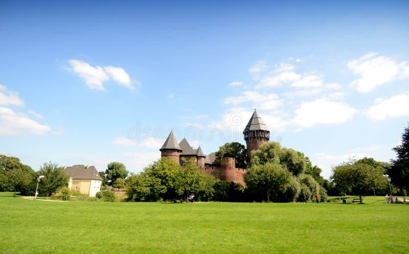 Замок - Burg Linn стоковые изображения rf