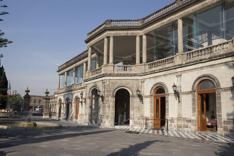 Замок Chapultepec стоковое изображение rf