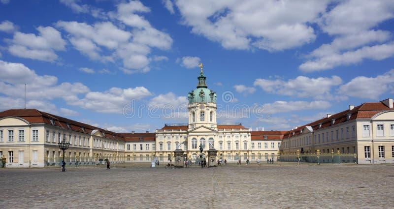 Замок Charlottenburg стоковые изображения rf