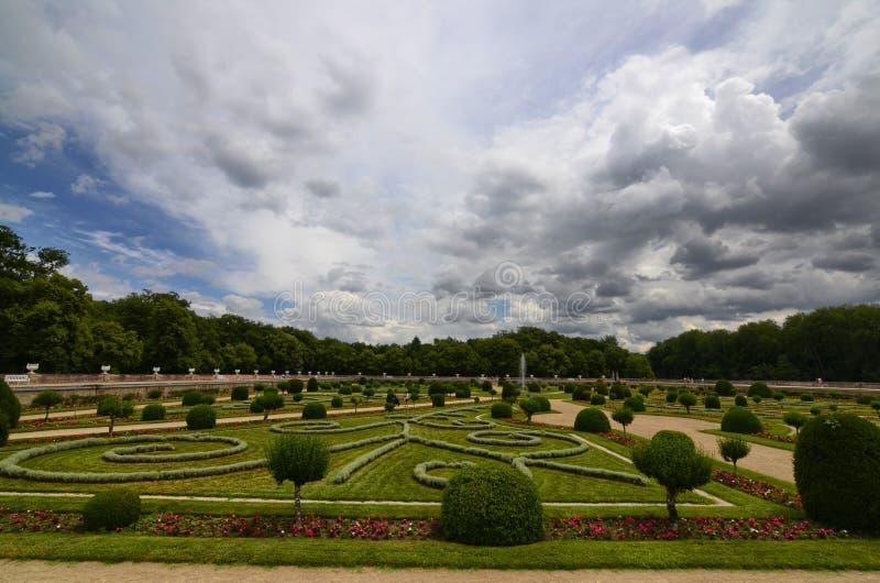 Замок Chenonceau, области Луары, Франции Снимок 27-ое июня 2017 стоковое фото
