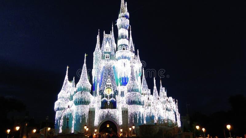 Замок Cinderellas стоковые изображения rf