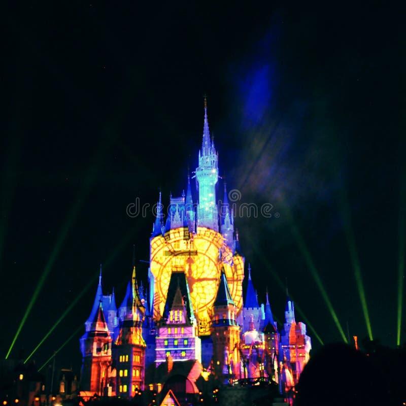 Замок Cinderellas стоковая фотография