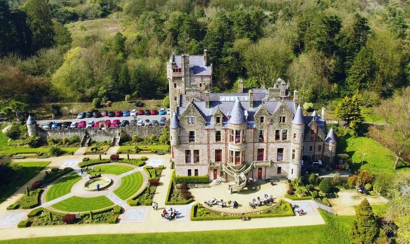 Замок Co Белфаста Антрим Северная Ирландия стоковые фотографии rf