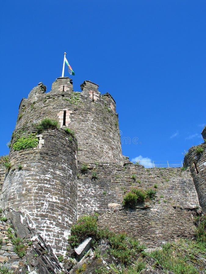 Download замок conwy стоковое фото. изображение насчитывающей башни - 1191582
