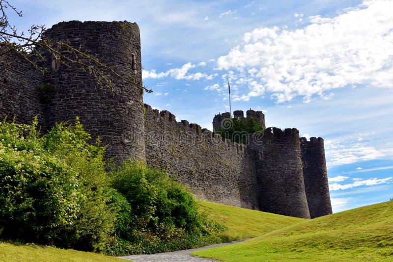замок conwy стоковое изображение