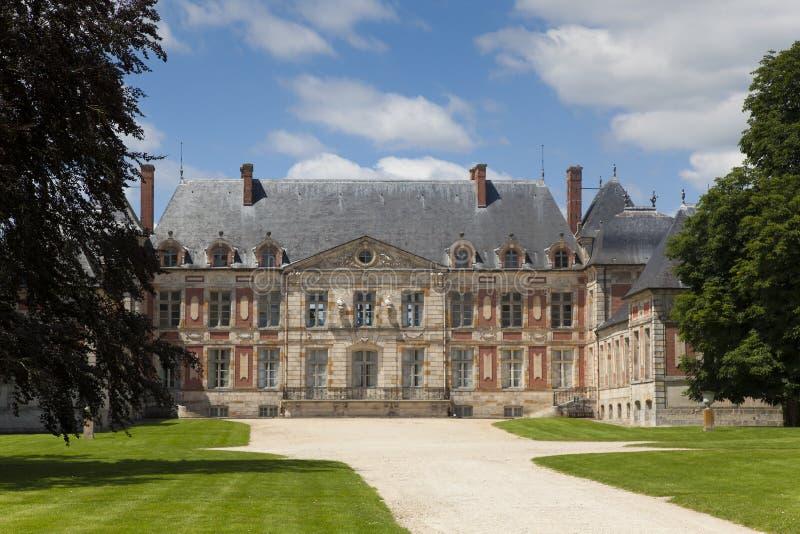 Замок Courson стоковые изображения rf