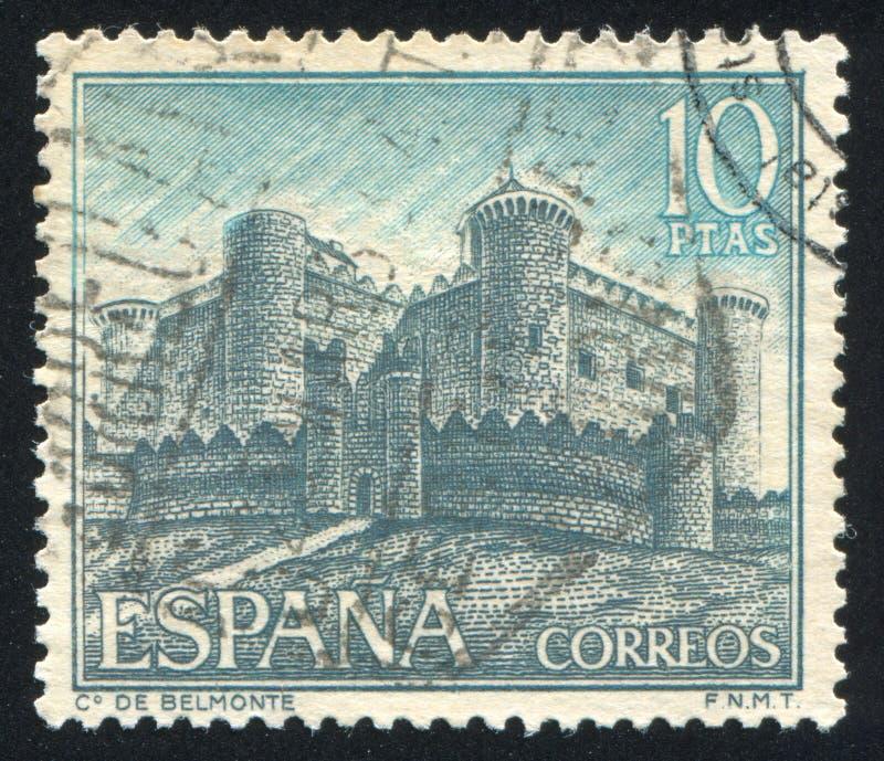 Замок de Belmonte стоковая фотография rf