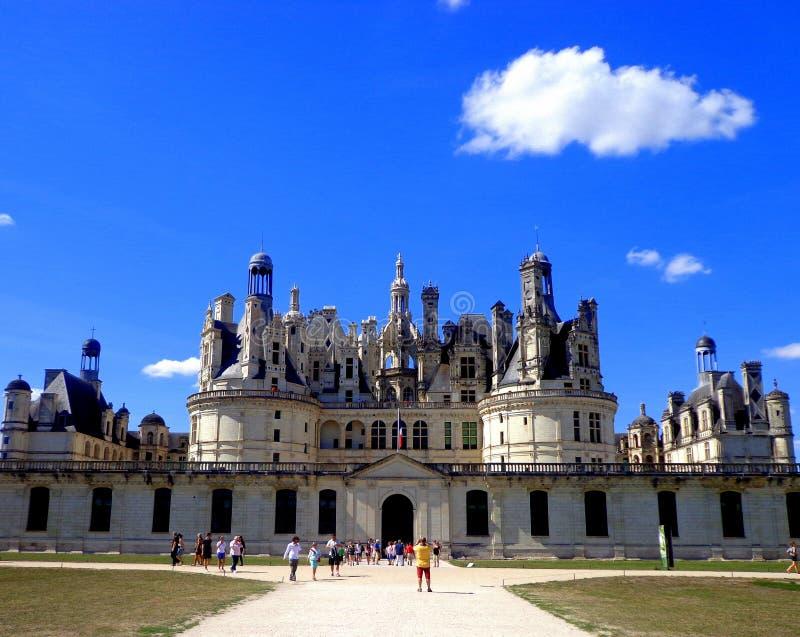 замок de chambord стоковые изображения rf