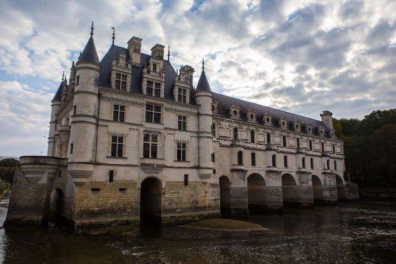 Замок de Chenonceau стоковые изображения