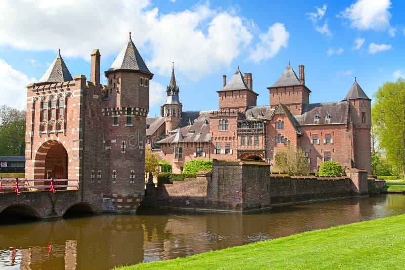 Замок De Haar стоковые фото