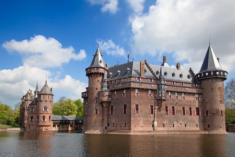 Замок De Haar стоковые изображения rf