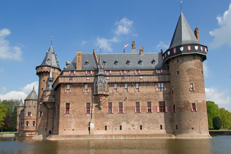 Замок De Haar стоковое фото rf