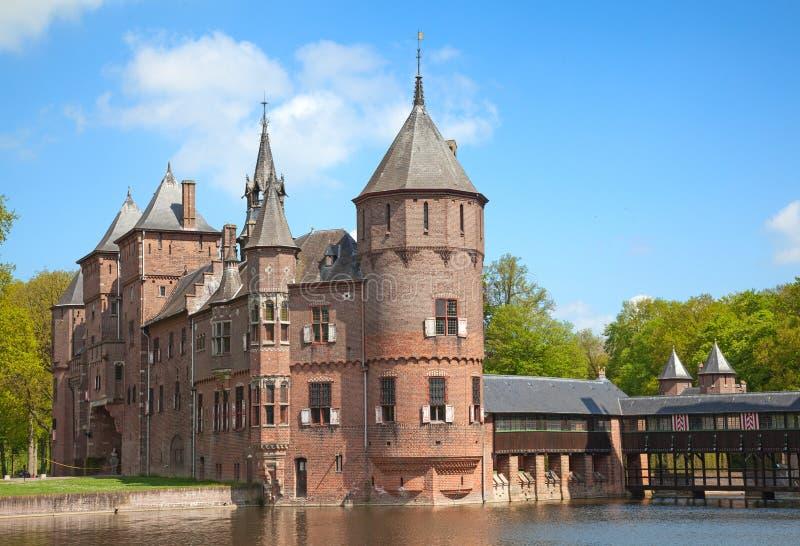 Замок De Haar стоковые фотографии rf