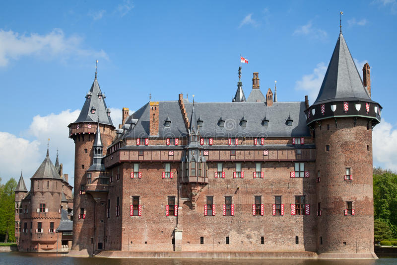 Замок De Haar стоковое фото