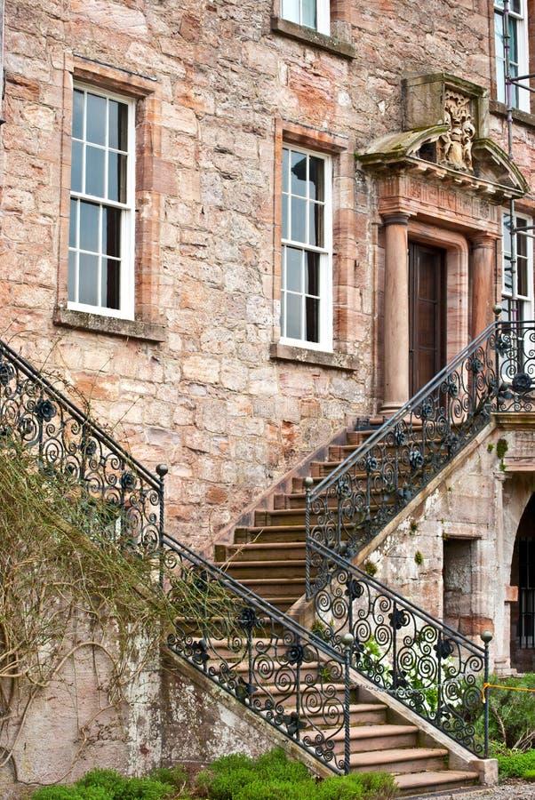 Замок Drumlanrig стоковая фотография