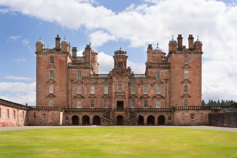 Замок Drumlanrig, Dumfriesshire, Шотландия стоковое фото rf