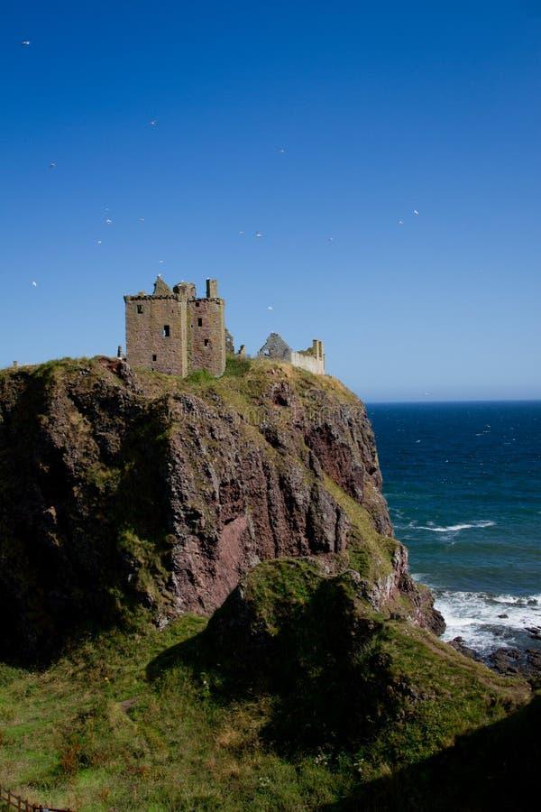 Замок Dunotter стоковое фото rf