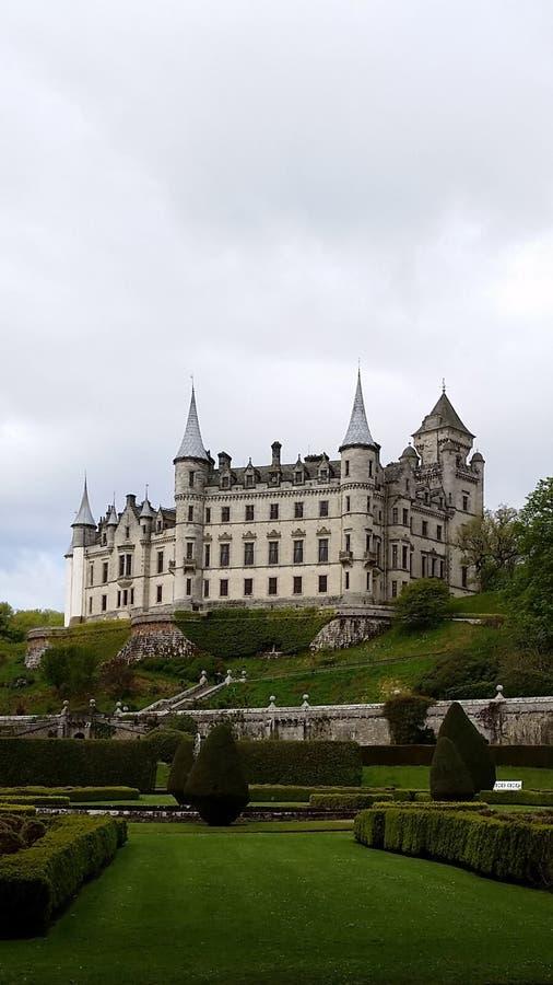 Замок Dunrobin стоковое фото rf