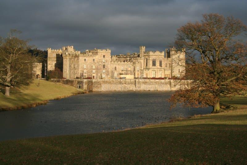 замок durham raby стоковое изображение