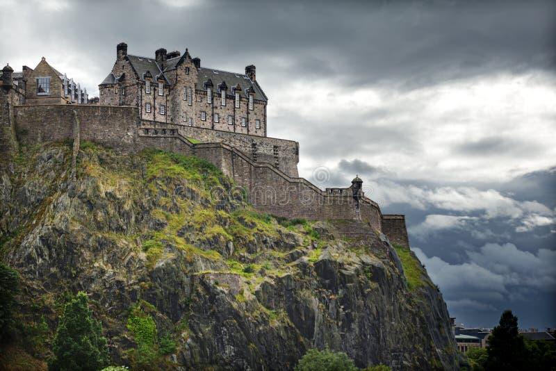 замок edinburgh Шотландия стоковые изображения rf