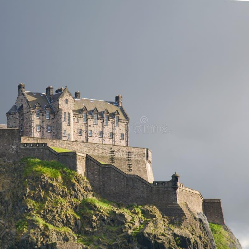 замок edinburgh стоковые фото