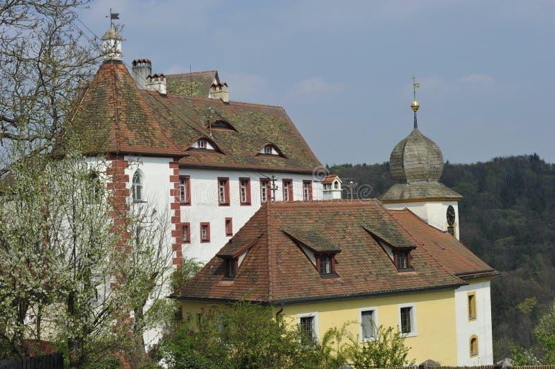 Замок Egloffstein стоковые фото
