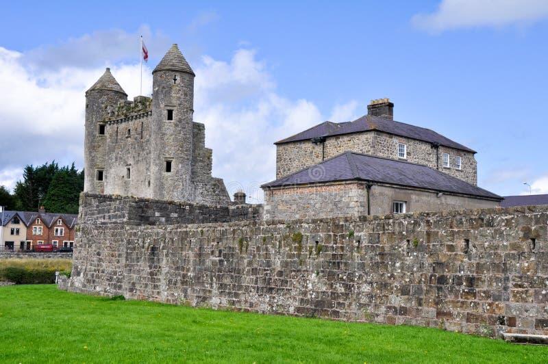 Замок Enniskillen, графство Fermanagh (северная ярость стоковые изображения rf