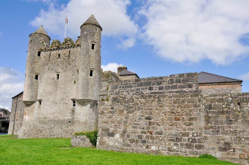 Замок Enniskillen, Северная Ирландия стоковые фотографии rf