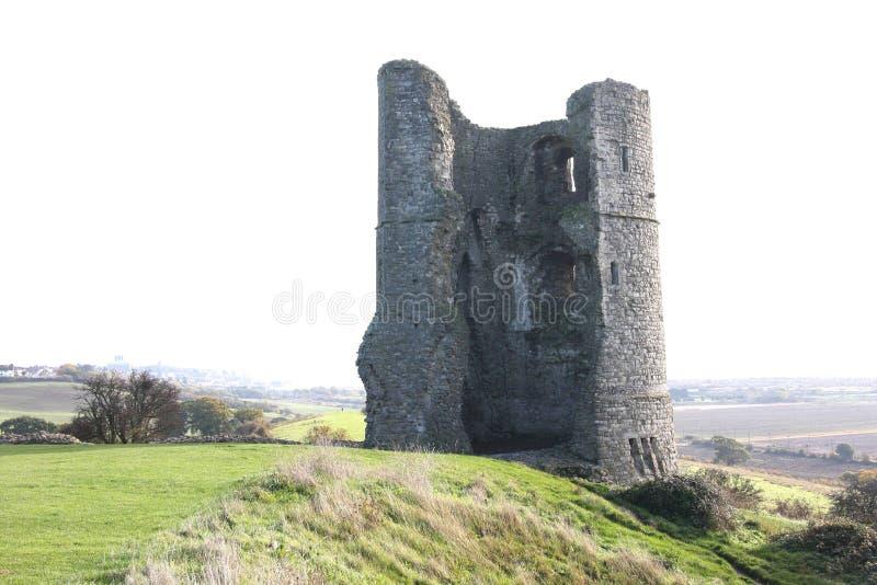 Замок Essex Англия Hadleigh стоковая фотография