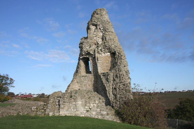 Замок Essex Англия Hadleigh стоковые фотографии rf