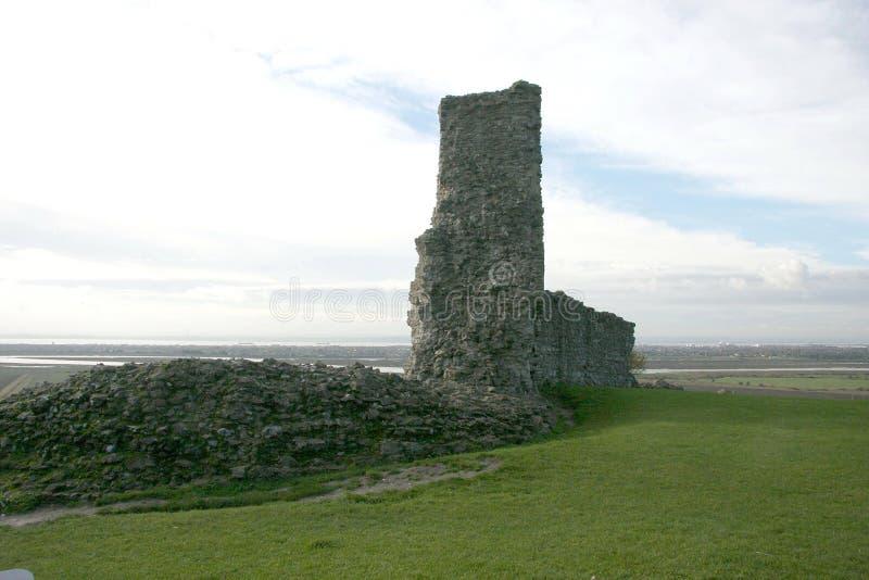 Замок Essex Англия Hadleigh стоковые изображения rf