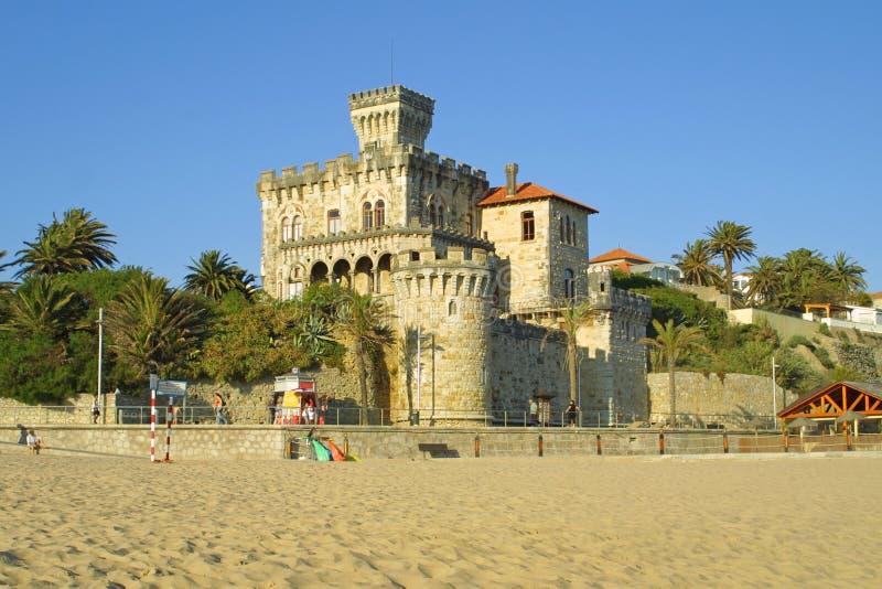 замок estoril стоковая фотография