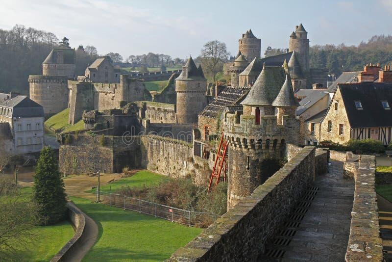 Замок Fourges стоковая фотография rf