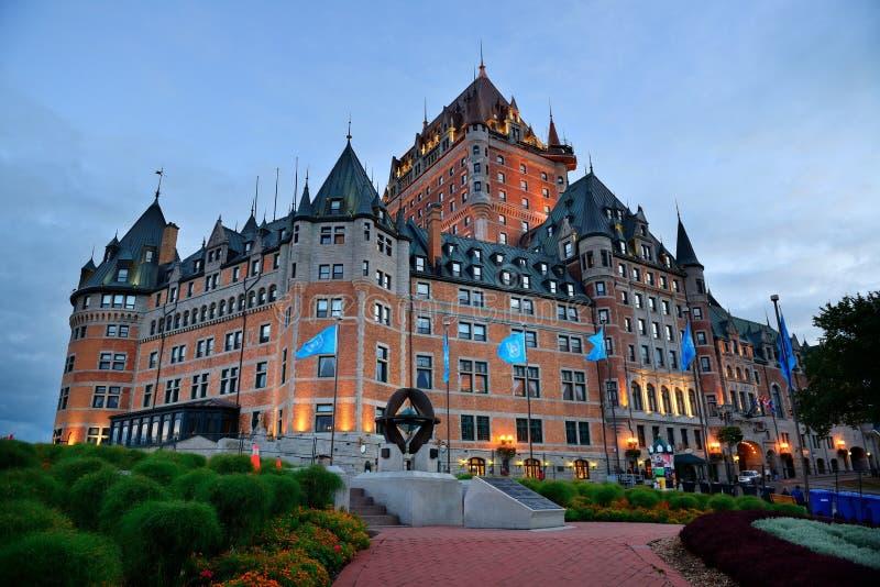 Замок Frontenac стоковая фотография rf
