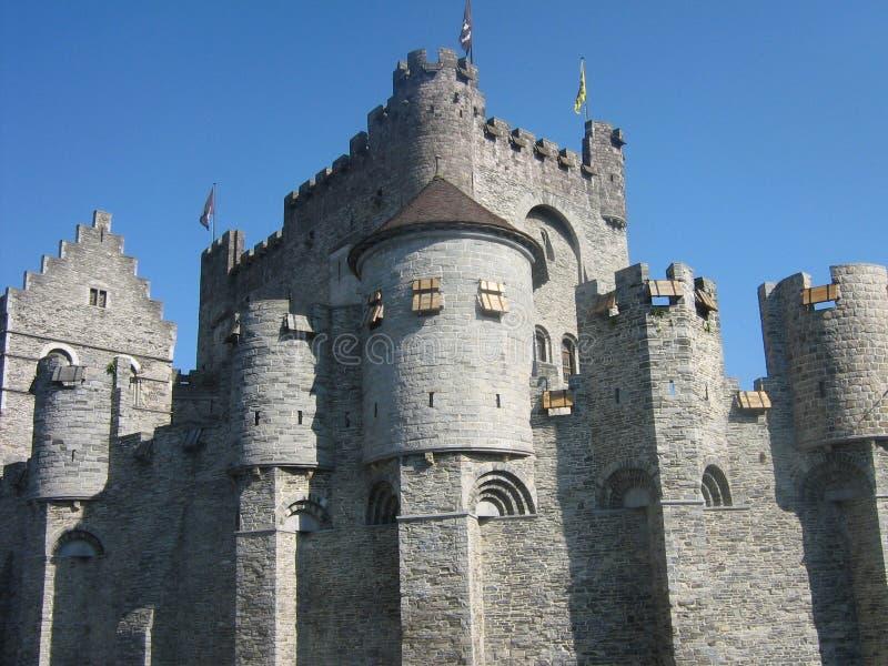 Замок Gent стоковое изображение rf