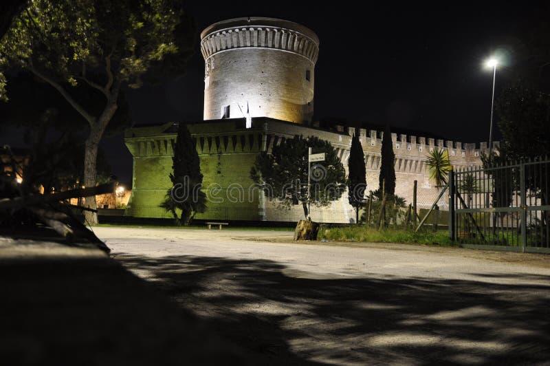 Замок Giulio II стоковые изображения rf