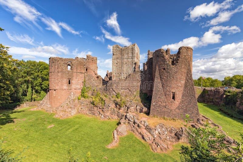 Замок Goodrich, Herefordshire стоковая фотография rf