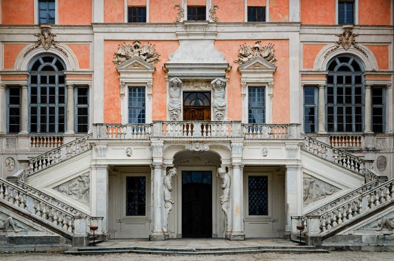 Замок Govone Италии стоковое фото rf