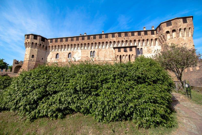 Замок Gradara в Италии стоковые фото