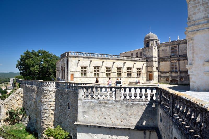 Замок Grignan стоковое фото