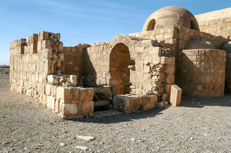 Замок Hanarrah стоковое изображение rf